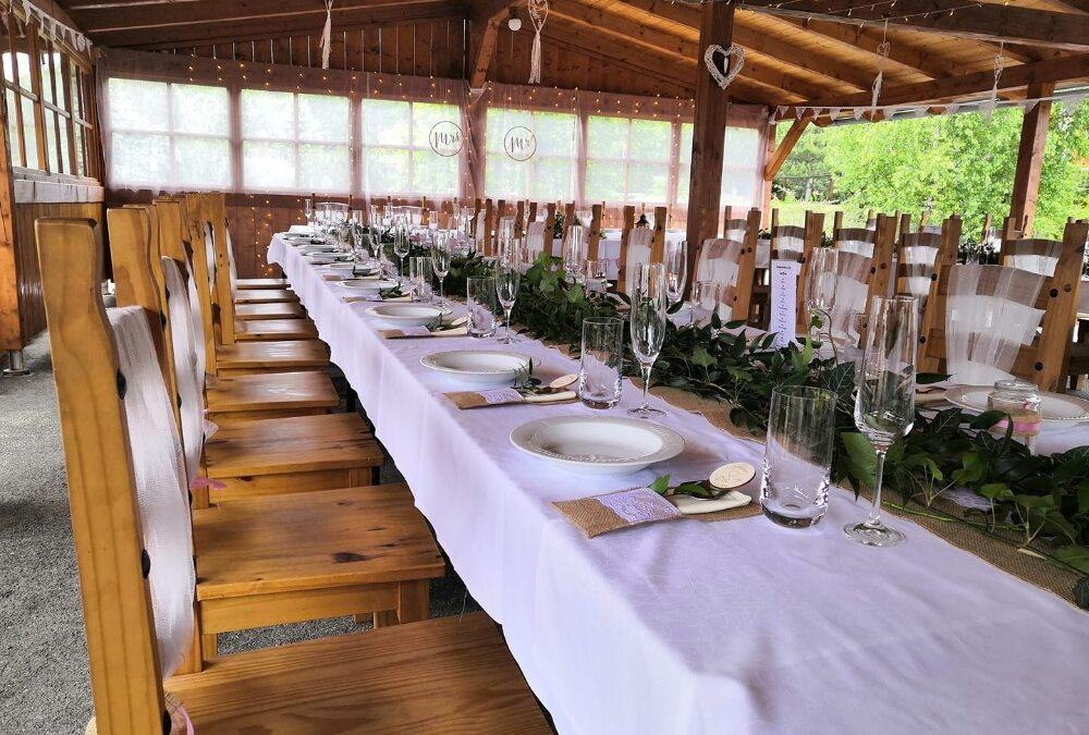 Svatba na Českém ranči